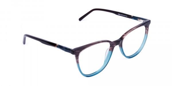 green cat eye frames - 2