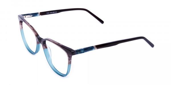 green cat eye frames - 3