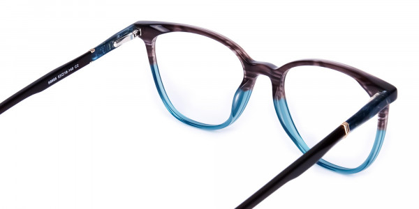green cat eye frames - 5