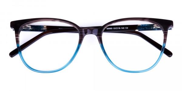 green cat eye frames - 6