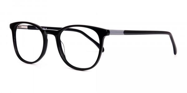 Black-Full-Rim-Round-Glasses-Frames-3