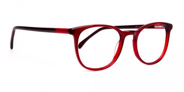 Wine-Red-Translucent-Round-Glasses-Frames-2