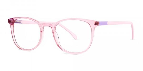 Crystal-and-transparent-blossom-Pink-Round-Glasses-Frames-3