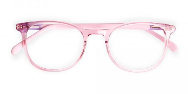 Crystal-and-transparent-blossom-Pink-Round-Glasses-Frames-6