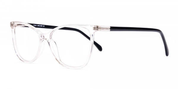 Crystal-Clear-Transparent-Cat eye-Glasses-Frames-3