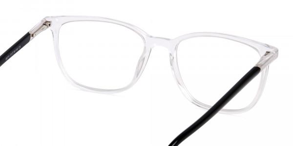 Crystal-Clear-Wayfarer-and-Rectangular-Glasses-Frames-5