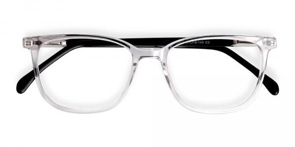 Crystal-Clear-Wayfarer-and-Rectangular-Glasses-Frames-6