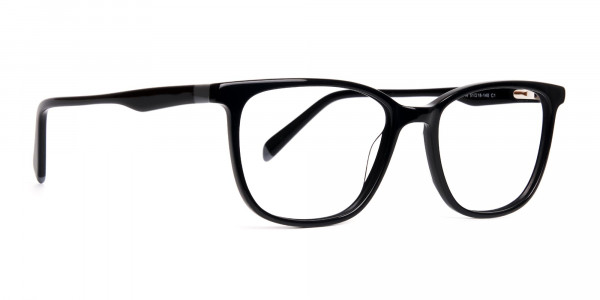 New-shiny-and-glossy-Black-Wayfarer-and-Rectangular-Glasses-Frames-2