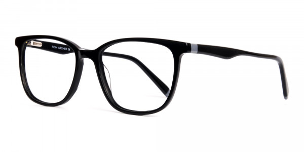 New-shiny-and-glossy-Black-Wayfarer-and-Rectangular-Glasses-Frames-3