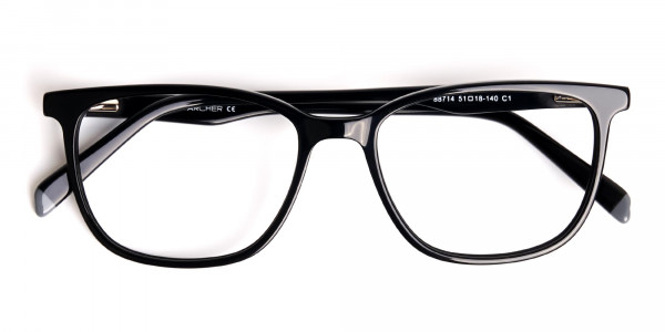 New-shiny-and-glossy-Black-Wayfarer-and-Rectangular-Glasses-Frames-6