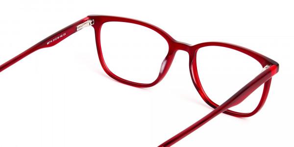 Dark-Red-Wayfarer-and-Rectangular-Glasses-Frames-5