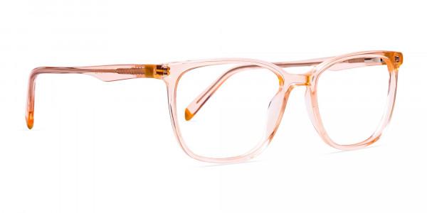 Transparent-or-crystal-clear-Orange-Wayfarer-and-Rectangular-Glasses-Frames-2