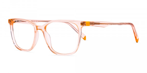 Transparent-or-crystal-clear-Orange-Wayfarer-and-Rectangular-Glasses-Frames-3