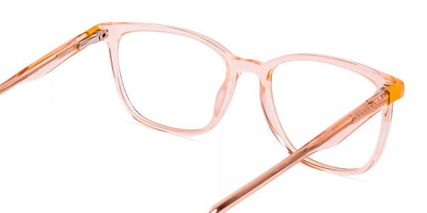 Transparent-or-crystal-clear-Orange-Wayfarer-and-Rectangular-Glasses-Frames-5
