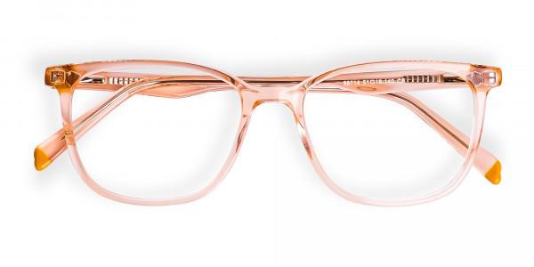 Transparent-or-crystal-clear-Orange-Wayfarer-and-Rectangular-Glasses-Frames-6