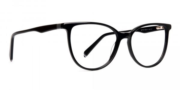 Glossy-Black-Cat-eye-Glasses-Frames-2