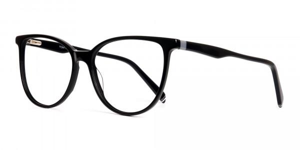 Glossy-Black-Cat-eye-Glasses-Frames-3