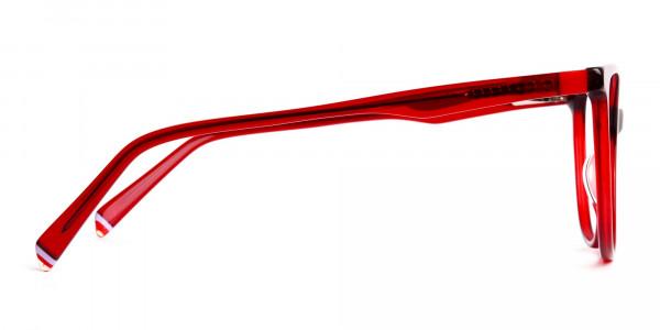 Dark-Red-Translucent-Cat-eye-Glasses-Frames-4