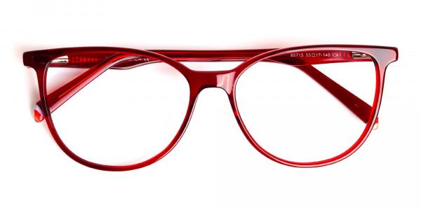 Dark-Red-Translucent-Cat-eye-Glasses-Frames-6