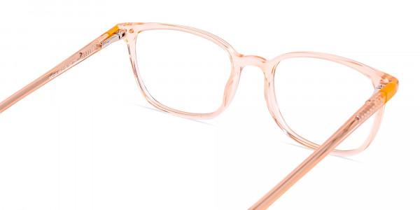 Crystal-clear-and-Transparent-Orange-Rectangular-Glasses-Frames-5
