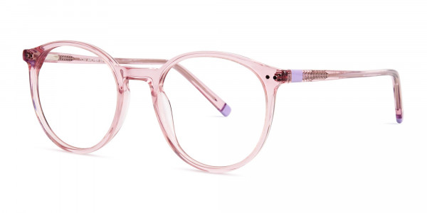 transparent-or-crystal-clear-blossome-and-nude-pink-round-glasses-frames-3