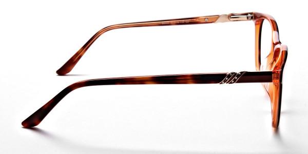 Maple Tortoiseshell Glasses with Diamante -3