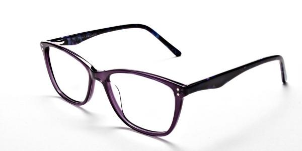 Purple & Red Retro Glasses -2