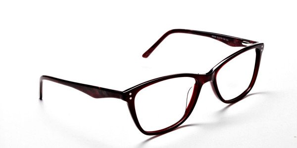 Red Retro Glasses -1