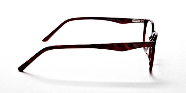 Red Retro Glasses -3