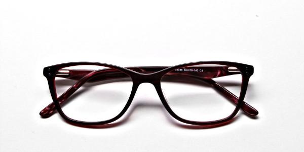 Red Retro Glasses -5