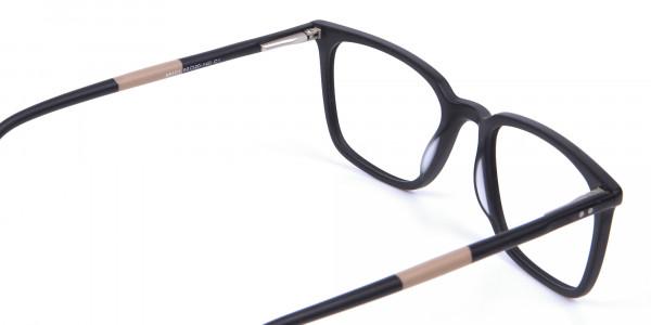 Black and Brown Pepper Eyeglasses - 4