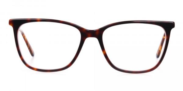 Women Designer Tortoise & Nude Pink Eyeglasses-1