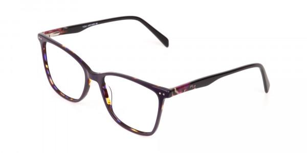 Designer Raisin Purple & Tortoise Eyeglasses Women-3