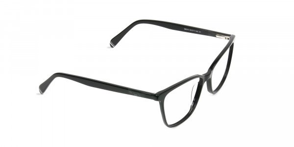 Women Black Rectangular Spectacles - 2
