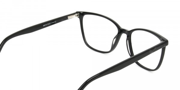 Women Black Rectangular Spectacles - 5