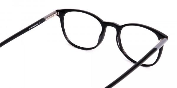 Black-Full-Rim-Round-Glasses-Frames-5