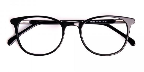 Black-Full-Rim-Round-Glasses-Frames-6