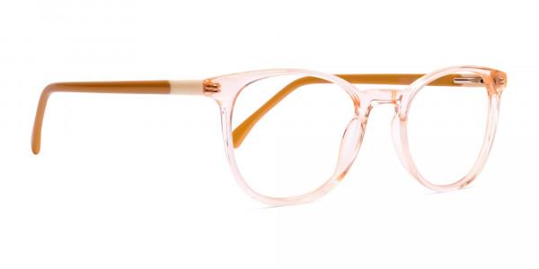 transparent-orange-Color-Round-Glasses-Frames-2