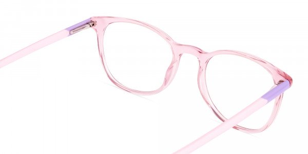 Crystal-and-transparent-blossom-Pink-Round-Glasses-Frames-5