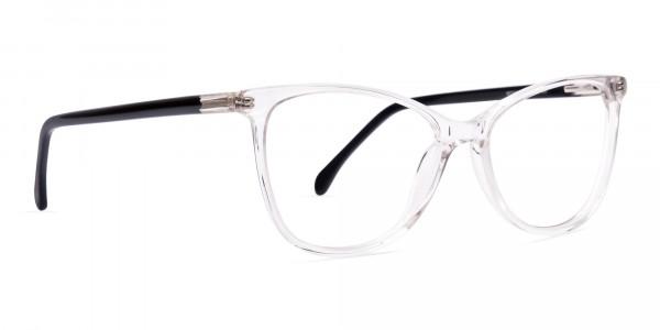 Crystal-Clear-Transparent-Cat eye-Glasses-Frames-2
