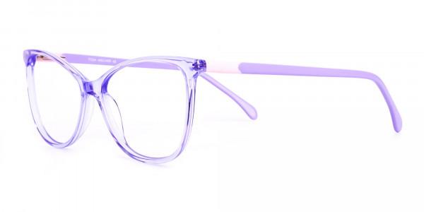 Crystal-Pastel-Purple-Cat eye-Glasses-Frames-3
