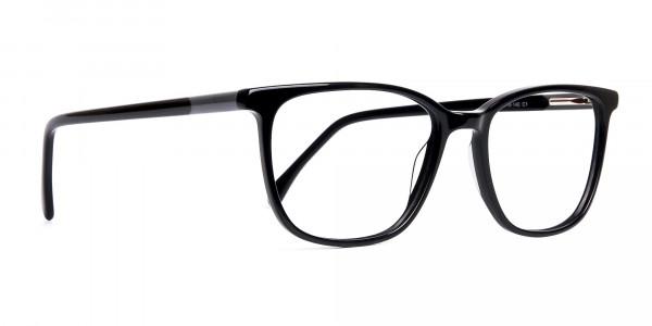 Black-Wayfarer-and-Rectangular-Glasses-Frames-2