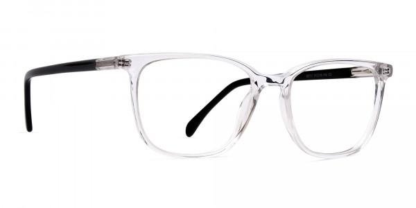 Crystal-Clear-Wayfarer-and-Rectangular-Glasses-Frames-2