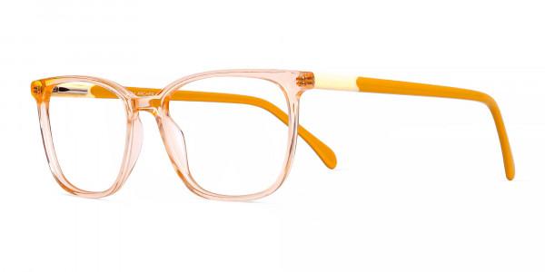 Crystal-Clear-Orange-Wayfarer-Rectangular-Glasses-Frames-3