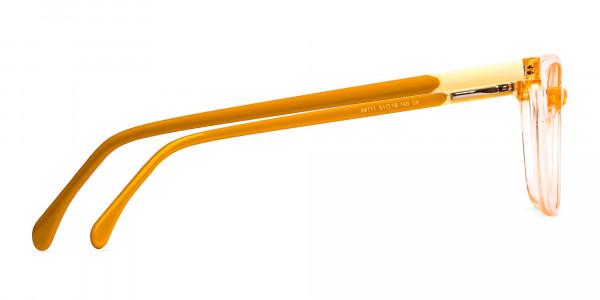 Crystal-Clear-Orange-Wayfarer-Rectangular-Glasses-Frames-4