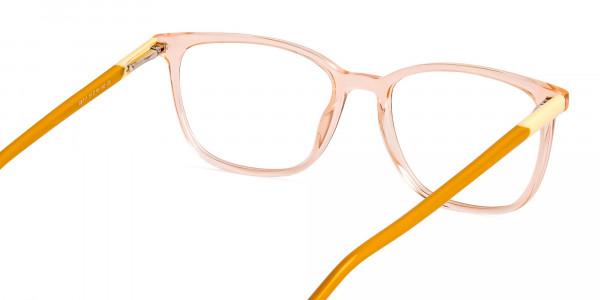 Crystal-Clear-Orange-Wayfarer-Rectangular-Glasses-Frames-5