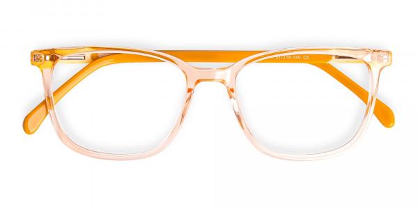 Crystal-Clear-Orange-Wayfarer-Rectangular-Glasses-Frames-6