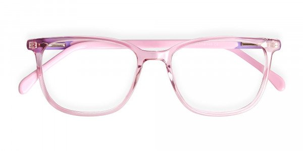Crystal-Clear-or-Transparent-Blossom-and-Hot-Pink-wayfarer-Rectangular-Glasses-Frames-6
