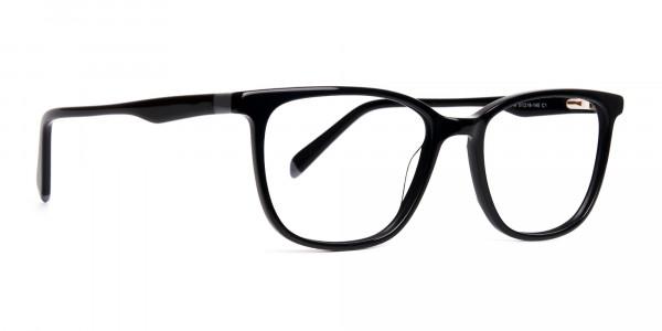 New-shiny-and-glossy-Black-Wayfarer-and-Rectangular-Glasses-Frames-2
