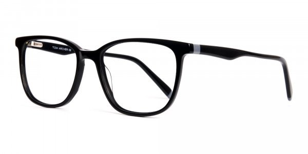 New-shiny-and-glossy-Black-Wayfarer-and-Rectangular-Glasses-Frames-3